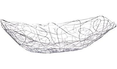 Zeller Present Obstschale, Länge: ca. 33 cm kaufen