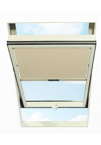 RORO TÜREN & FENSTER Sichtschutzrollo BxL: 74x118 cm, beige kaufen