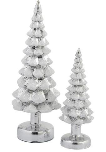 LED Baum »Tannenbaum Snow«, Neutralweiß, 2er Set, Höhe ca. 23 cm und 34 cm kaufen