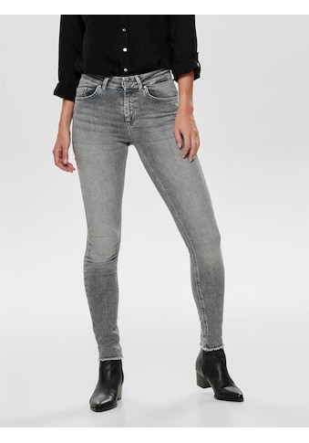 Only Skinny-fit-Jeans »BLUSH«, mit ausgefranstem Saum kaufen