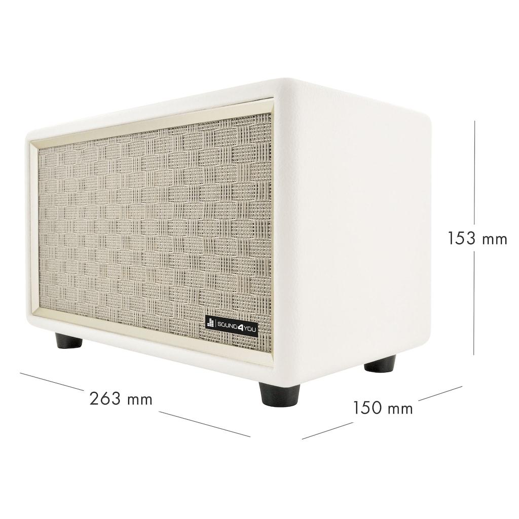 Schwaiger Bluetooth Lautsprecher Retro Design Stereo Speaker