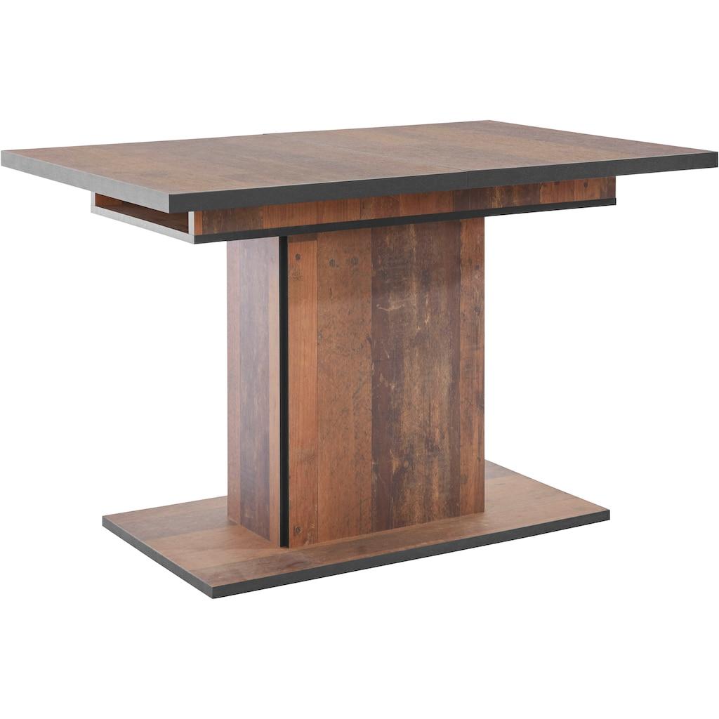 HELA Esstisch »Ariana«, durch innenliegende Einlegeplatten ausziehbar 120-160 cm