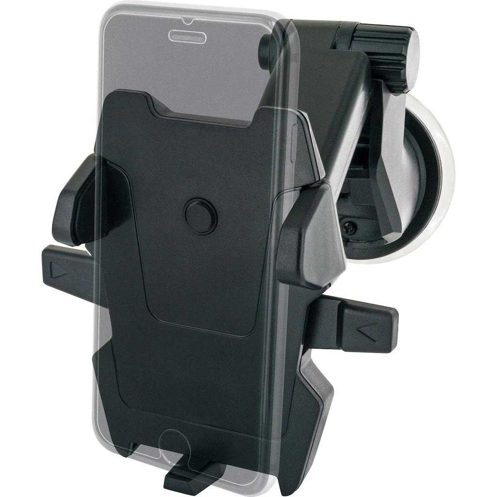 Schwaiger Smartphone KFZ Halterung 360° drehbar, ausziehbar, 6 Zoll »für die Windschutzscheibe«