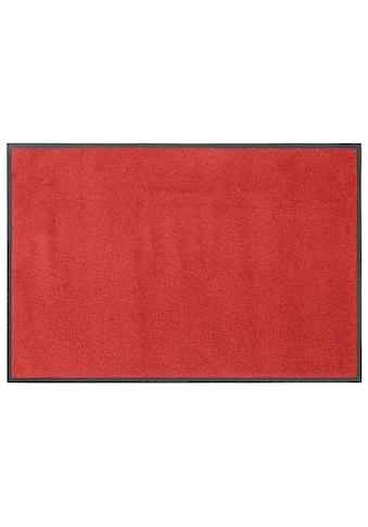 DELAVITA Fußmatte »Lavea«, rechteckig, 9 mm Höhe, Schmutzmatte, Uni Schmutzfangmatte,... kaufen