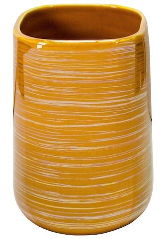Kleine Wolke Zahnputzbecher »Argentic«, elegante Accessoire Serie mit Silber Effekt Glasur kaufen