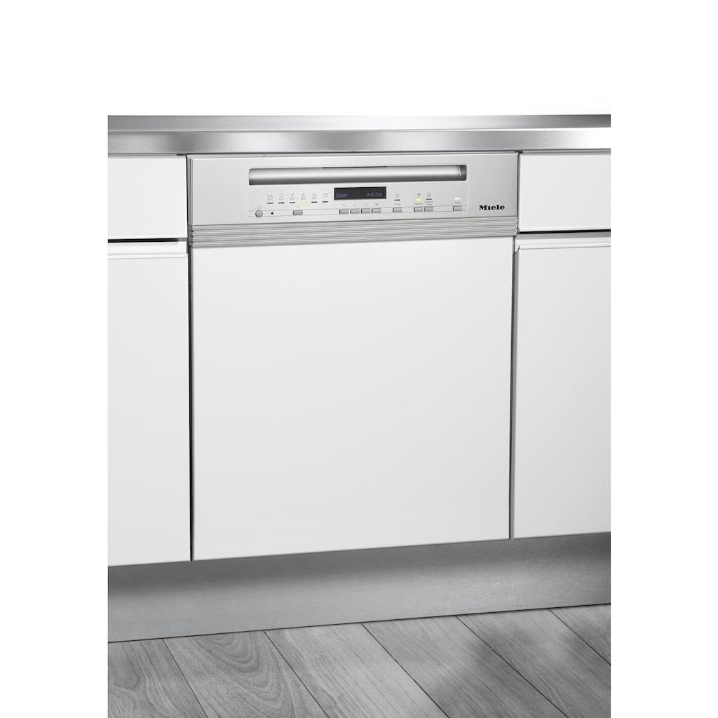 Miele teilintegrierbarer Geschirrspüler »G 7100 SCi«, G 7100 SCi, 14 Maßgedecke, mit edelstahlfarbener Blende