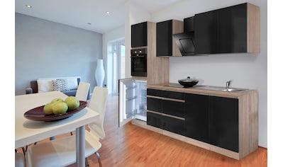Küchenzeile »Boston«, mit E - Geräten, Breite 270 cm kaufen