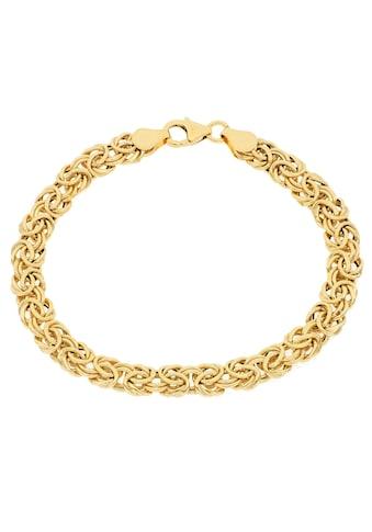 Firetti Goldarmband »Glanz, oval, Königskettengliederung« kaufen