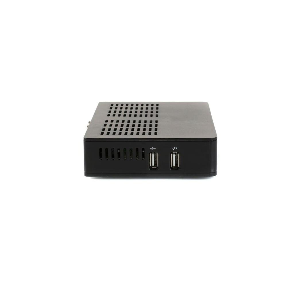 Opticum Red SAT-Receiver »Sloth HD 4K Combo S2/T2/C2«, PVR Ready, Triple Tuner und IP TV