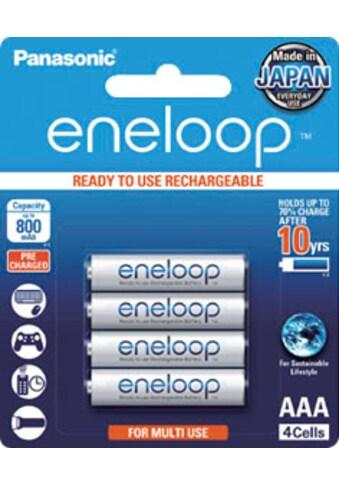 Panasonic »Eneloop Micro AAA HR03« Batterie (4 Stück) kaufen
