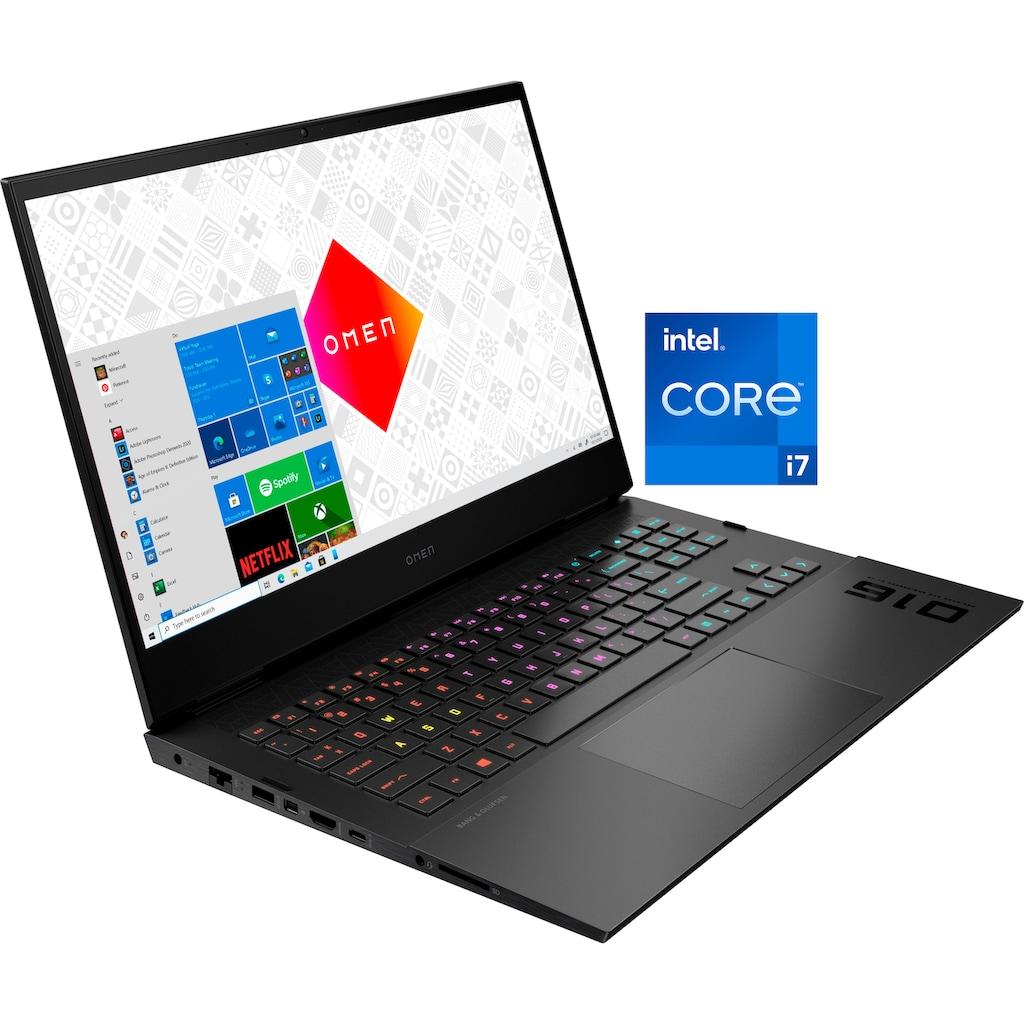 "OMEN Notebook »16-b0085ng«, (40,9 cm/16,1 "" Intel Core i7 GeForce RTX 3070 Max.Q\r\n 512 GB SSD), Kostenloses Upgrade auf Windows 11, sobald verfügbar"