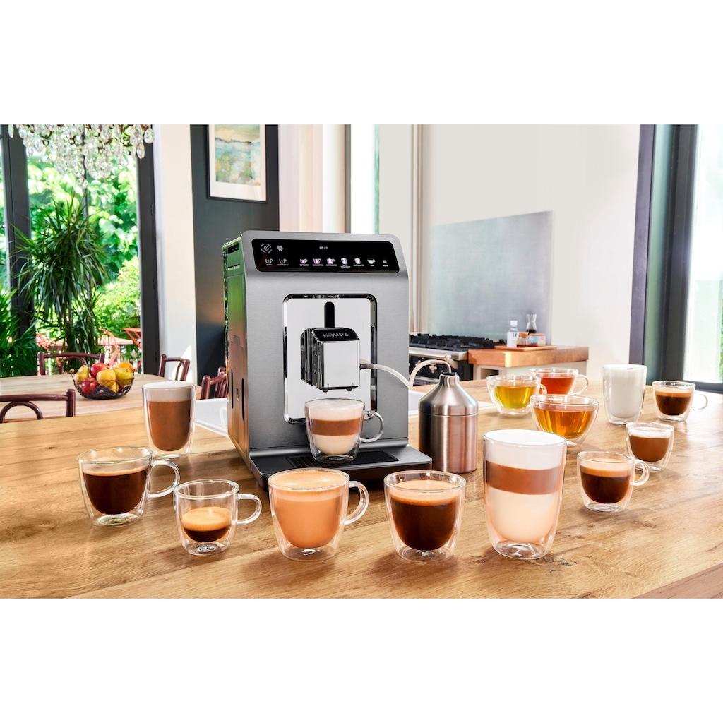 Krups Kaffeevollautomat »EA894T Evidence Plus One-Touch-Cappuccino«, Platzsparend mit vielen technischen Innovationen und Bedienungshighlights