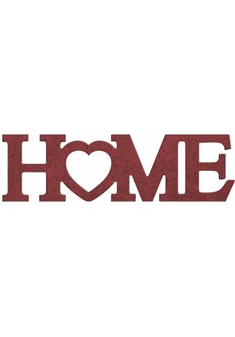 Dekoobjekt »Home mit Herz« kaufen