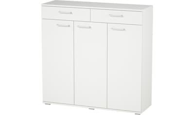 "Kommode »Foxi«, Kommode ""Foxi"", 3 Türen, 2 Schubladen, Höhe 108,5 cm kaufen"