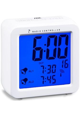 ADE Funkwecker »Funkwecker CK 1701«, Nie mehr verschlafen – dank Dual-Alarm kaufen