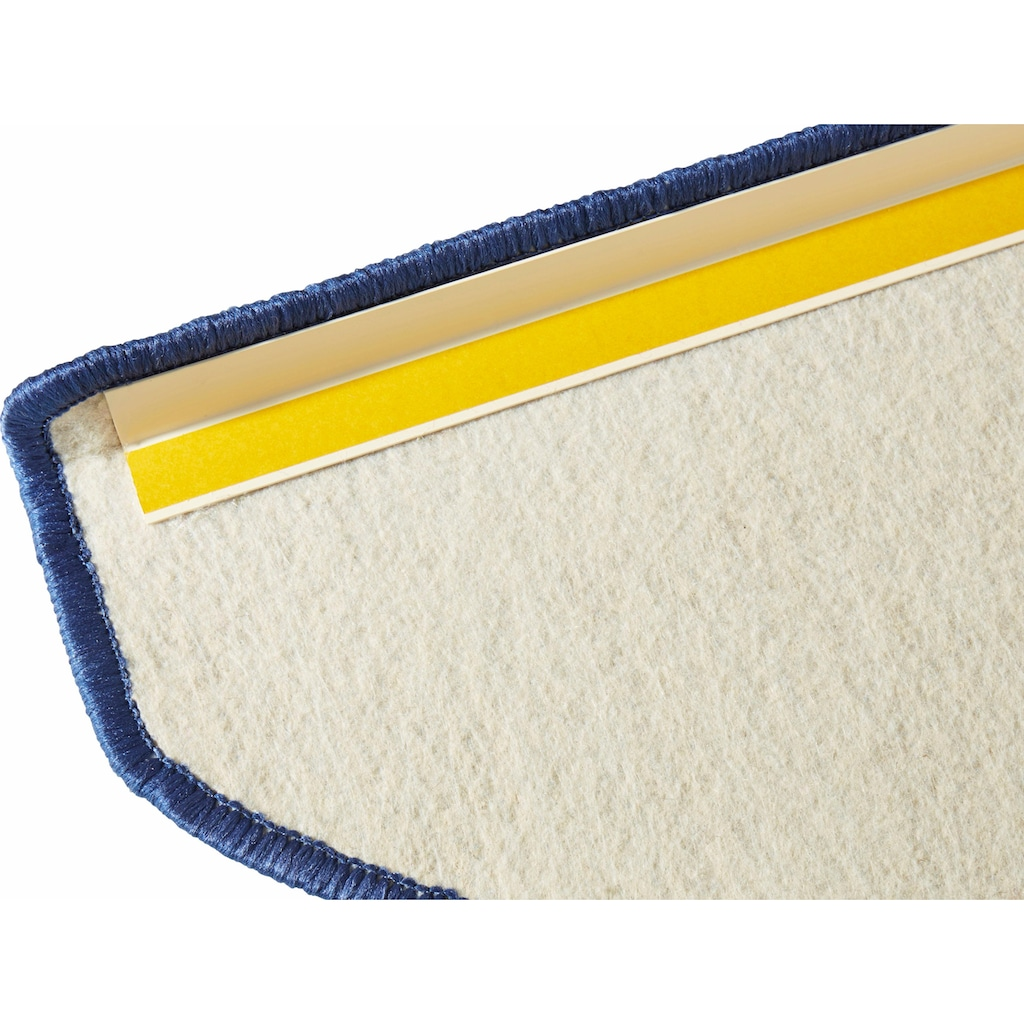 HANSE Home Stufenmatte »Fancy«, halbrund, 7 mm Höhe, große Farbauswahl, 15 Stück in einem Set