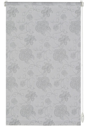 Seitenzugrollo »EASYFIX Rollo Dekor Stickerei«, GARDINIA, Lichtschutz, ohne Bohren kaufen