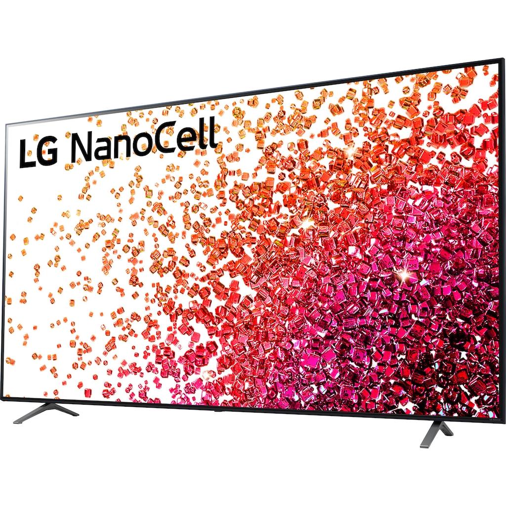 "LG LCD-LED Fernseher »75NANO759PA«, 189 cm/75 "", 4K Ultra HD, Smart-TV, NanoCell"