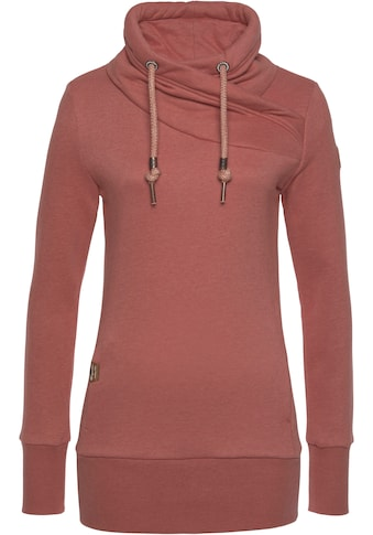 Ragwear Plus Sweater »NESKA PLUS«, lädt zum Kuscheln ein, mit breiten Rippstrickbündchen kaufen