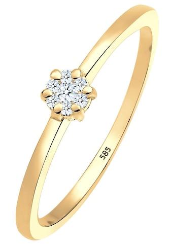 Diamore Verlobungsring »0612341813«, mit funkelnden Brillanten kaufen