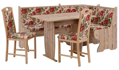 Home affaire Eckbankgruppe »Minden 1« (Set, 4 - tlg Die Stühle weichen in der Farbe ab.) kaufen