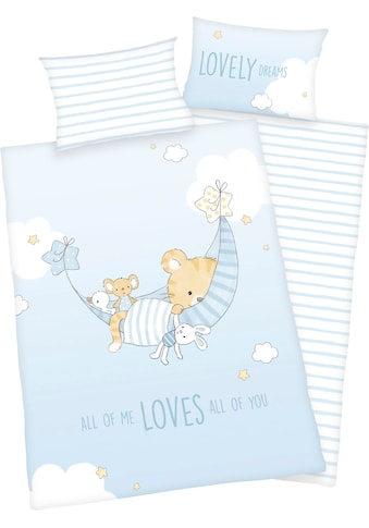 Baby Best Babybettwäsche »Little Tiger«, mit niedlichem Motiv und liebevollem Schriftzug kaufen