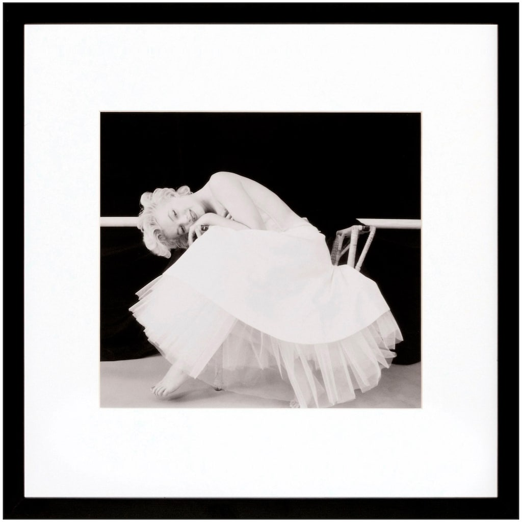 G&C Bild »Marilyn Monroe Motiv 2«, 40/40 cm, gerahmt