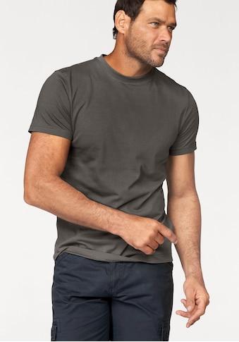 Man's World T-Shirt, Basic T-Shirt mit trageangenehmer Qualität kaufen
