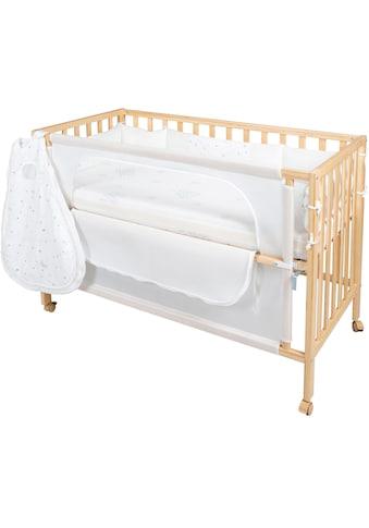 roba® Babybett, »Room Bed, safe asleep®, Sternenzauber natur«, 4 - tlg. kaufen