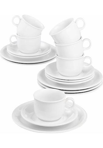 """Seltmann Weiden Kaffeeservice """"Compact"""" (18 - tlg.), Porzellan kaufen"""