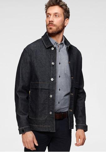 Esprit Jeansjacke, mit Logoprint auf der Tasche kaufen