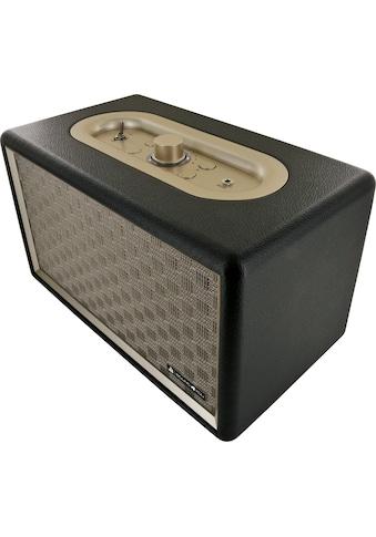 Schwaiger Bluetooth Lautsprecher Retro Design Stereo Speaker kaufen