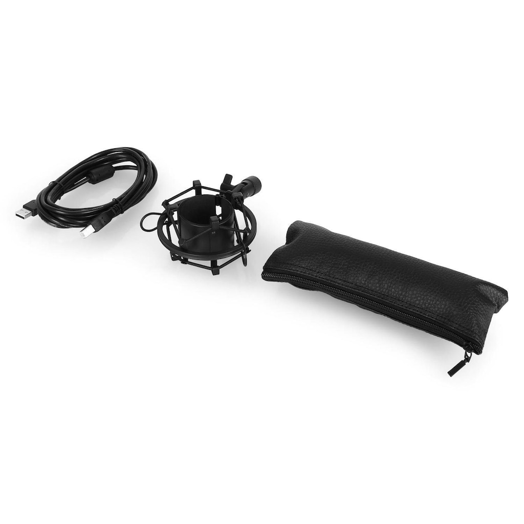 Auna USB Kondensator Mikrofon Niere Studio »MIC-UM900«