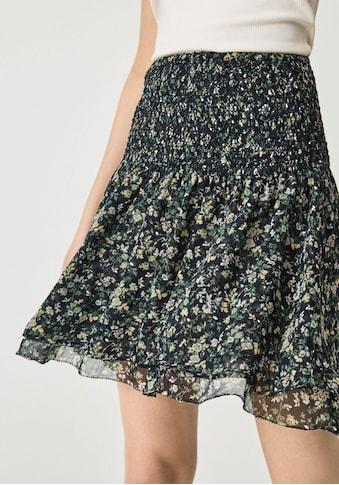 Pepe Jeans Rüschenrock »SOFIA«, aus Crinkle Chiffon mit elastischem Bund und... kaufen