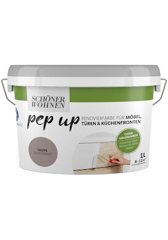 SCHÖNER WOHNEN-Kollektion Lack »pep up - taupe«, seidenmatt, für Möbel, Türen und... kaufen