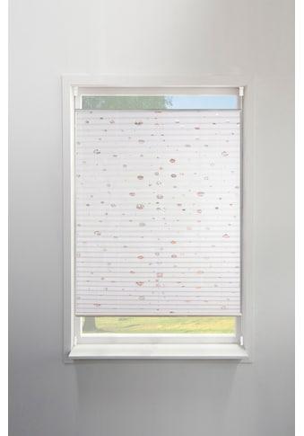 Plissee, »Dots«, my home, Lichtschutz, ohne Bohren, verspannt kaufen