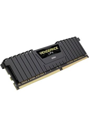 Corsair »VENGEANCE® LPX Speicherkit 64 GB (2 x 32 GB) DDR4 DRAM 3000MHz C16« PC - Arbeitsspeicher kaufen