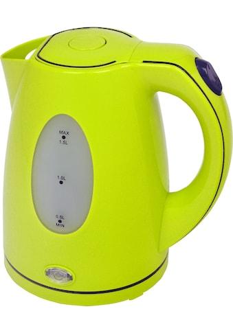 Efbe-Schott Wasserkocher »SCWK5010«, 1,5 l, 2200 W, lemon/grün kaufen