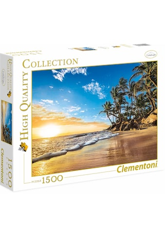 Clementoni® Puzzle »High Quality Collection - Tropischer Sonnenaufgang«, Made in Europe kaufen