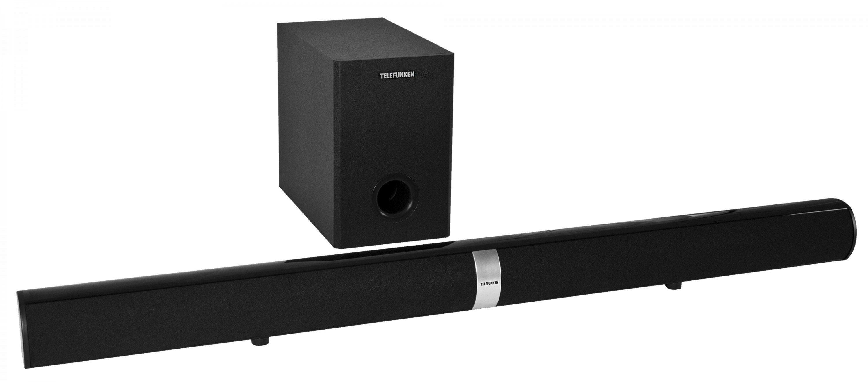 telefunken tv soundbar inkl subwoofer mit bluetooth. Black Bedroom Furniture Sets. Home Design Ideas