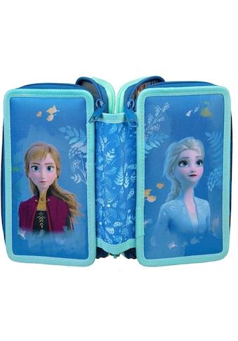 Scooli Schreibgeräteetui »Triple Decker, Frozen«, befüllt, inkl. Geodreieck kaufen