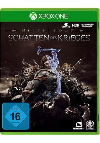 Mittelerde: Schatten des Krieges Xbox One kaufen