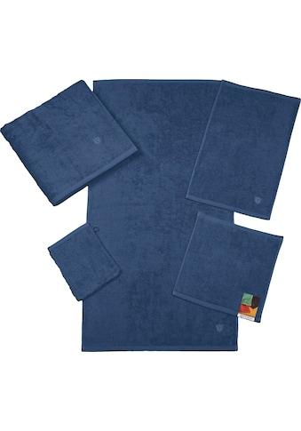 ROSS Waschhandschuh »Vita«, (6 tlg.), mit gesticktem ROSS-Emblem kaufen
