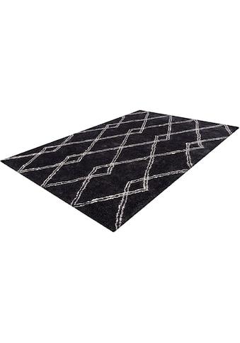 Hochflor - Teppich, »Alva«, my home, rechteckig, Höhe 27 mm, maschinell gewebt kaufen