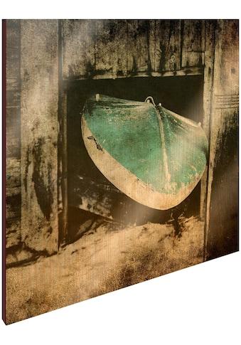Art & Pleasure Holzbild »Surf break« kaufen