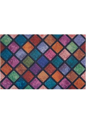my home Fußmatte »Caro«, rechteckig, 6 mm Höhe, Schmutzfangmatte, In- und Outdoor... kaufen