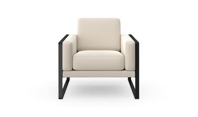 machalke® Loungesessel »frame«, mit Kufe in Schwarz kaufen