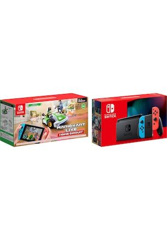 Nintendo Switch Konsolen-Set, inkl. Mario Kart Live - Luigi Edition kaufen