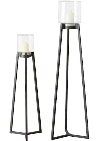 BOLTZE Dekoobjekt »Windlicht Denia, 2 tlg., Set 2« kaufen