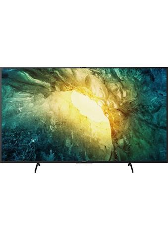 Sony KD55X7055 Bravia LED - Fernseher (139 cm / (55 Zoll), 4K Ultra HD, Smart - TV kaufen